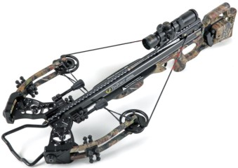 crossbow with custom bowstrings